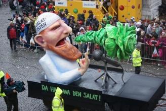 Pierre Vogel am Düsseldorfer Karneval