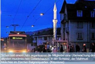 Zürcher Moscheen melden Angst vor Anschlägen