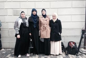 Die Delegation des IZRS beim Verwaltungsgericht St. Gallen