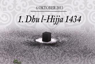 Dieses Jahr fällt der 1. Dhul Hijja auf den 6. Oktober