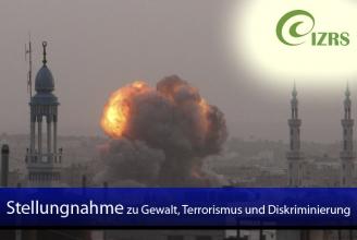 Der IZRS bedauert Gewalt, Terrorismus und Diskriminierung