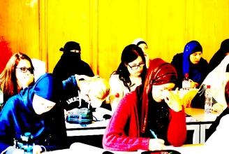 Teilnehmerinnen am Modul über Qur'an-Wissenschaften