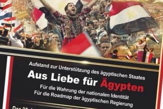 Freunde der ägyptischen Armee laden zur Demo in Bern