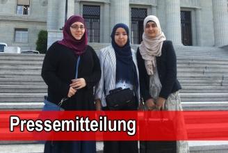 Vertreterinnen des IZRS vor dem Bundesgericht