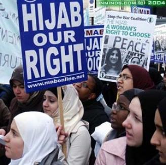 Der Hijab, mein Recht!