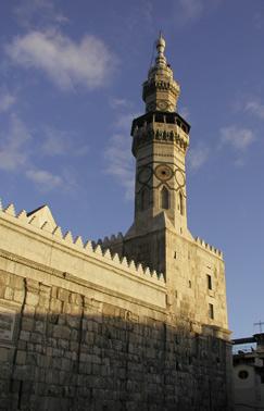 West_minaret_Umayad_mosque_damascus