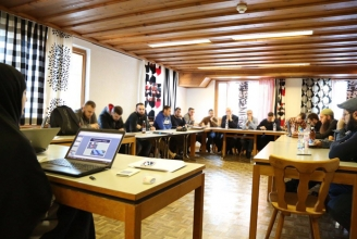 Schura-Sitzung 2016 im Berner Oberland