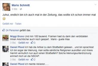 Schmitt freut sich über die Medien-Aufmerksamkeit