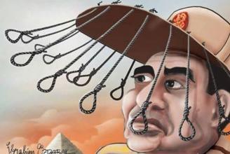 Die Militärjunta schickt Oppositionelle an den Strang
