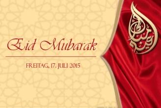 Freitag, 17. Juli ist der erste Tag des Eid al-Fitr  Schweiz:
