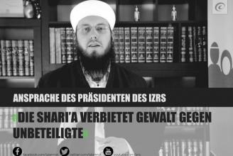 Der IZRS-Präsident annulliert die Mord-Fatwa al-Adnanis