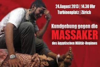 Am 24.8.2013 wird in Zürich demonstriert