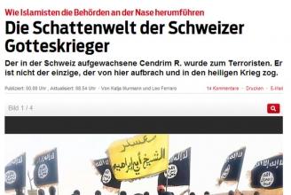 Sonntagsblick: Schweizer Islamisten und Co.