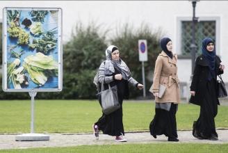 Die IZRS Delegation auf dem Weg zum Verwaltungsgericht