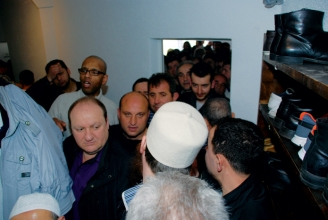 Grosser Andrang bei der Eröffnung der Moschee Zeiningen